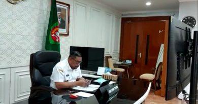 Pimpin Rapat Online, Gubernur Maluku Tekankan Tiga Point Hadapi Covid-19