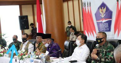 Rakor Bersama Meteri, Gubernur Maluku Laporkan Masalah Penanganan Covid-19