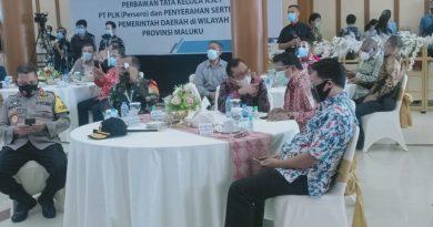 Gubernur Maluku Hadiri Rakor Perbaikan Tata Kelola Aset PLN