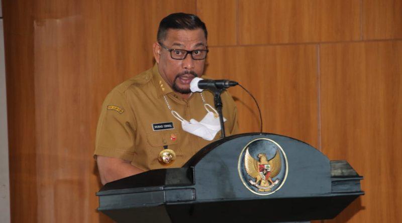 Tandatangani PK 2021, Ini Pesan Gubernur Murad Ismail