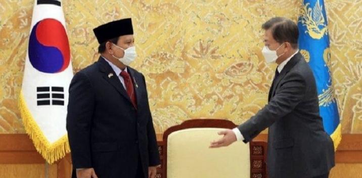 Menhan Prabowo Subianto Kunjungi Pabrik KAI Korsel