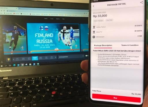 Kabar Gembira, Telkomsel Hadirkan Paket MOLA EURO 2020
