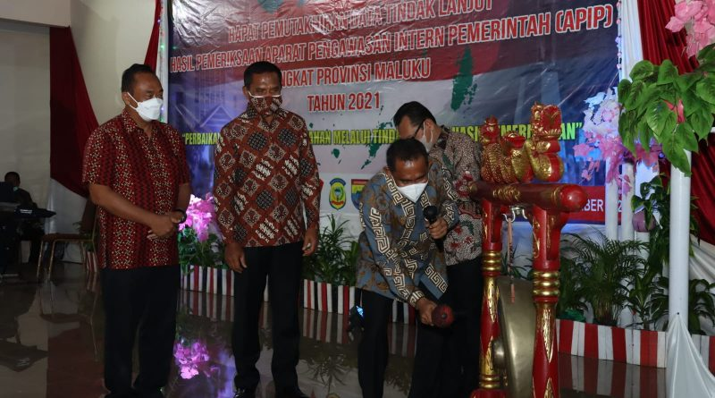 Wagub Orno Buka Rapat Pemutakhiran Data TLHP 2021